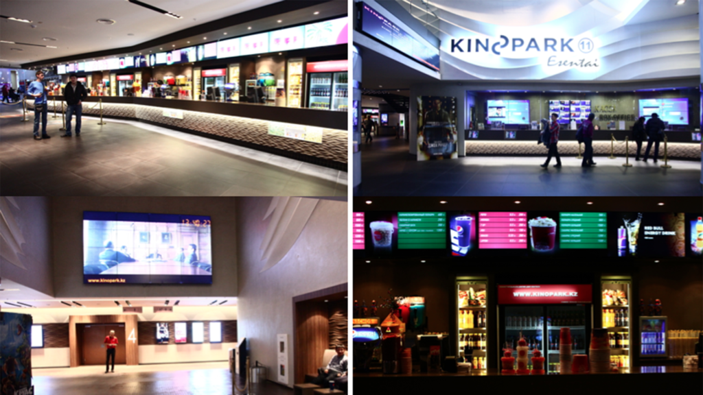 Digital Signage в кинотеатрах. Идеи от idmc.com.ua