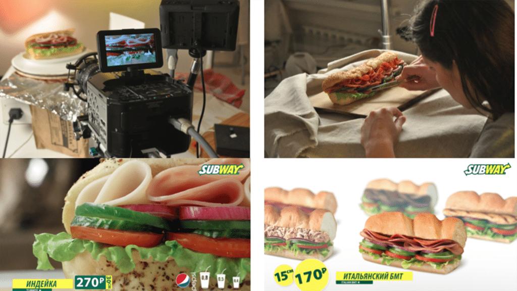 food styling content - сьемка еды для меню Digital Signage idmc.com.ua