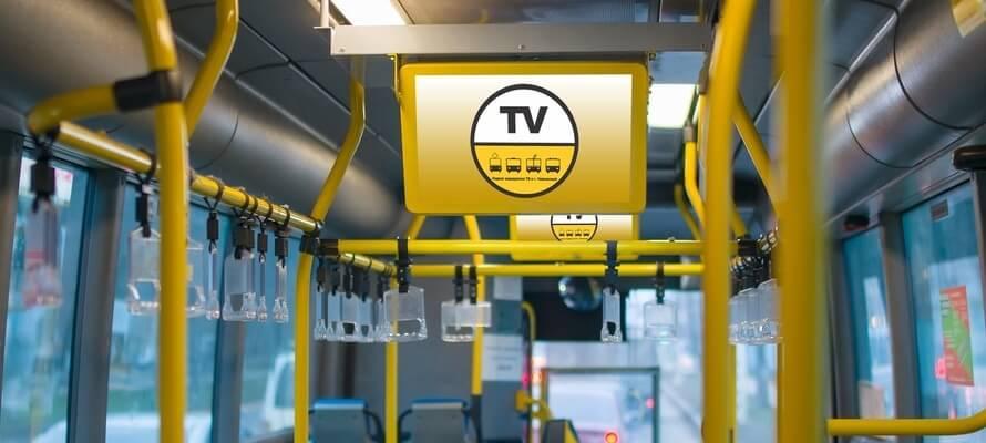 Рекламные мониторы для транспорта
