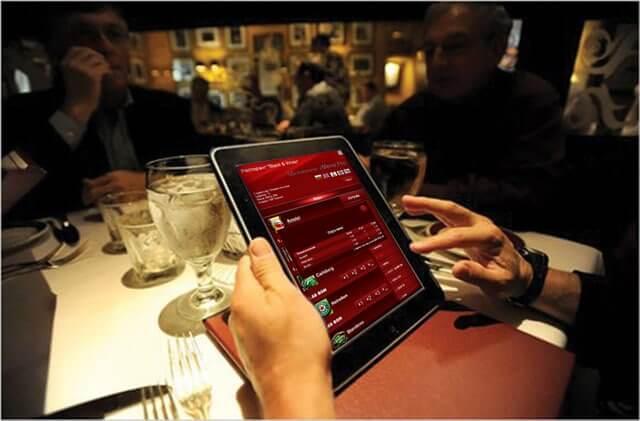Электронное меню для ресторана. Инновациие в сфере Digital Signage в Украине
