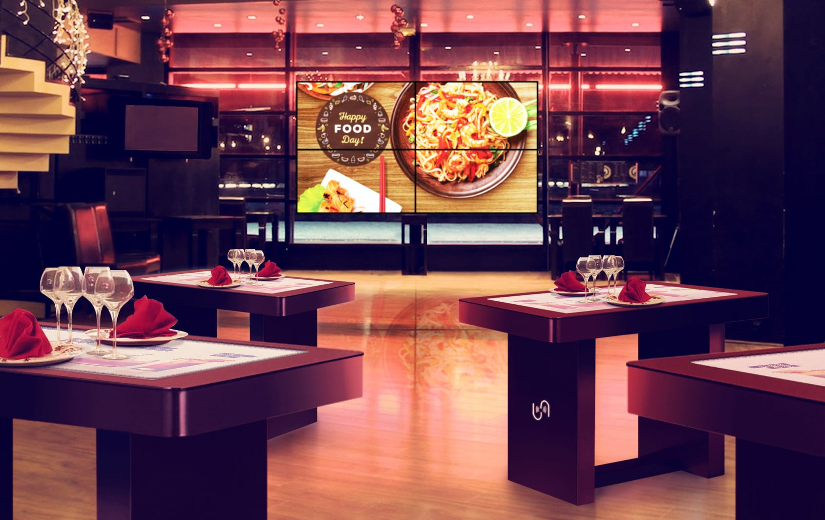 Digital Signage в ресторанном бизнесе